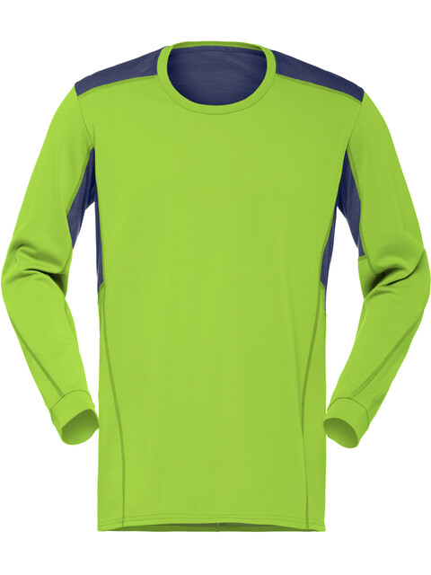 Norrøna M's Falketind Super Wool Shirt Birch Green